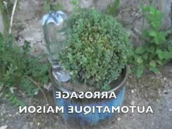 arrosage automatique potager fait maison